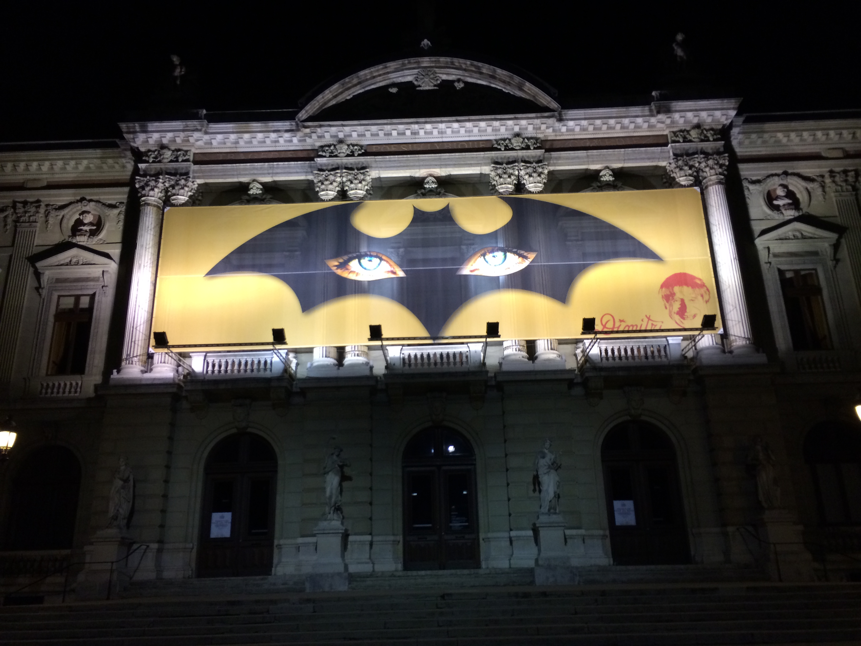 Dark Knight in Geneva